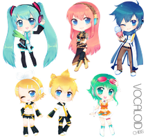 VCLD Chibis by Aninion