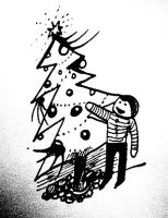 Boy and X-mas by pagone