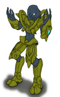 Elite in Protoss armor by Methados