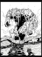 Manthing inked by billmeiggs