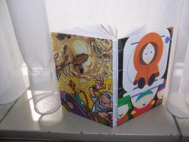 Hand bound south park book by Dead-Promises