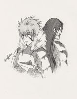 The Senju Brothers by asmafadhel