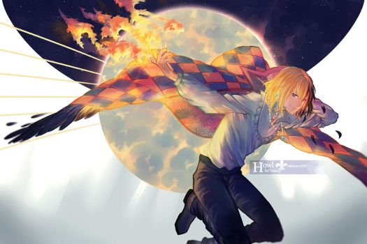 Howl's Moving Castle: Howl by sakonma