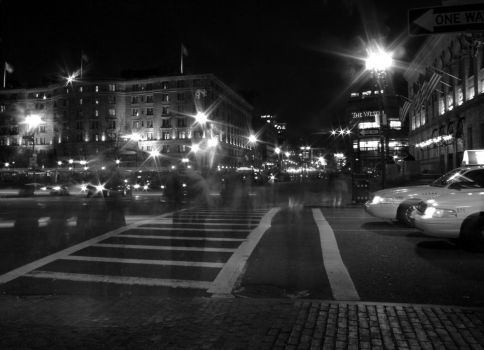 Boston Black Night by fotografE