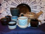 Pottery 5 - Mum's haul from my first classes by jlbooth76