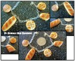 Delicious Baked Breads Bracelet by Sparkle-And-Sunshine