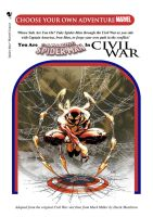 You Are The Amazing Spider-Man In Civil War Cover by derekmetaltron