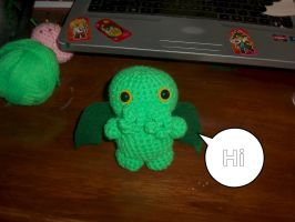 2nd Cutest Cathulhu Doll made on request. by SunnyFaceMLP