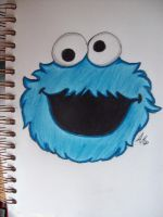 C is for Cookie. by pencil-to-papaer