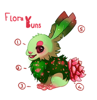 FloraBuns OPEN SPECIES! by LushiAdopts