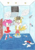 What are you doing here Amy? by Mancoin