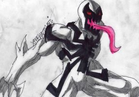 Anti-Venom ready to fight by ChahlesXavier