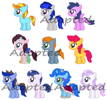 Fan Foals Challenge 21-30 (2 LEFT) by Randina42