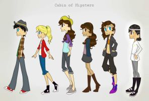 Cabin of Hipsters by bratitude123