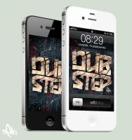 DUBSTEP iPhone Wallpaper by DigitalDean