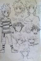 2013 small doodles by moenitas
