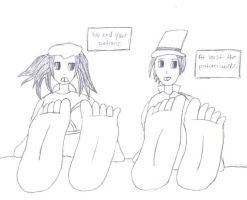 Kagome's Foot Growth Part 3 by ryosgold