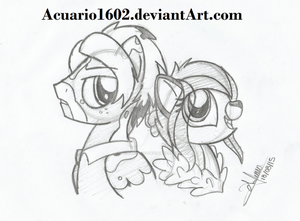Pace Maker and Willow by Acuario1602