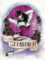 Zombinah by koffinkandy
