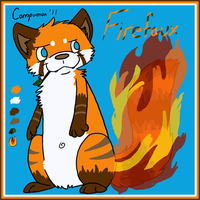 New Ref: Firefaux by Kitsumon