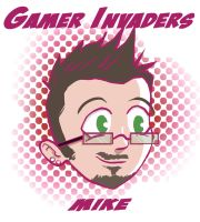 Gamer Invaders Mike by RushLightInvader