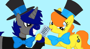 Singing Buddies! by PerkyPitch