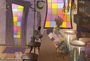 Witch's workshop by yenefer