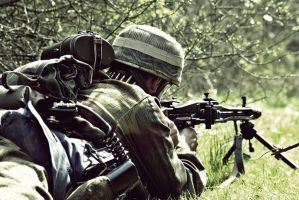 MG42, Bocage Cover, Training by BenjH