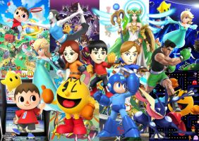 SSB4 Newcomers by BatNight768