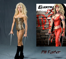 Pili Fuster Is Elektra Assassin By Ange10 - Ulics by zenx007