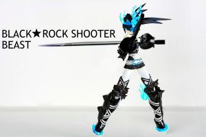 Black Rock Shooter Beast by Macky-Sama