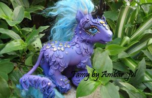My little pony custom Kirin Tamy by AmbarJulieta