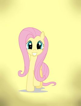 Fluttershy-vector-awesome-first-digital art by lucario0206