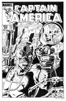 Captain America 286 Cover Recreation by dalgoda7