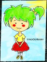strawberry girl by strawberryblossoms03