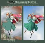 Before And After Jack's Moving Castle by WaterLily-95