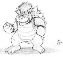 Crazy Bowser by voln