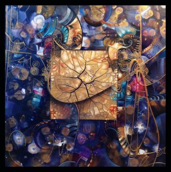 Objet pictural non identifie... by Amytea