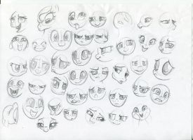 MLP - Expression studies 3 by Ihmislehma
