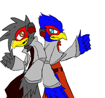 falvin and falco by falvin565