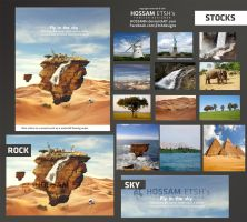 Stock Used in Fly in tha Sky by HOSSAMH