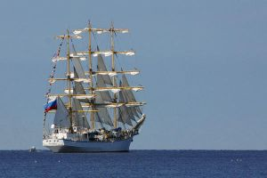 Sailing Off by BeachMariner
