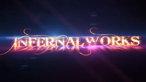 Infernal Works colorful logo by RazoR-psg