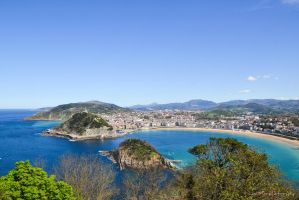 View from Monte Igueldo by LusiMau