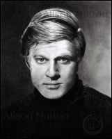 Robert Redford by Alene