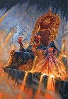 Talisman: The Firelands by RalphHorsley