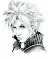 Cloud Strife by Hexoja