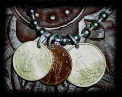 my coin necklace by PiratesGlory