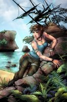 Tomb Raider 15th Anniversary by jam-bad