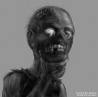What do Zombies think about? by GaryStorkamp